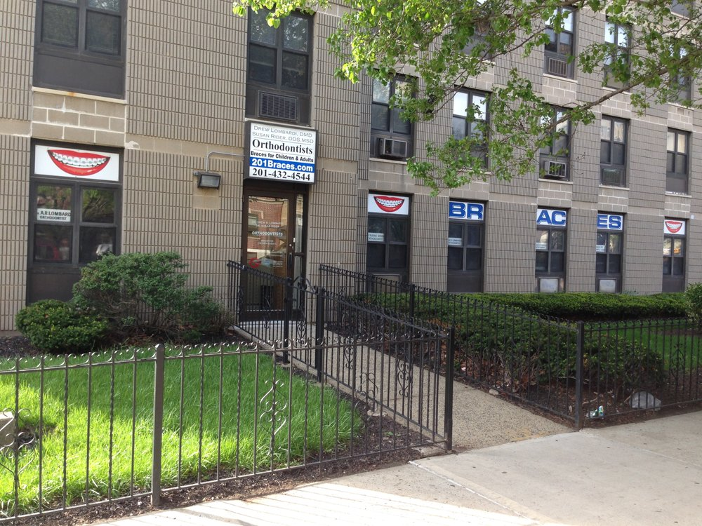 Our office entry seen from the street