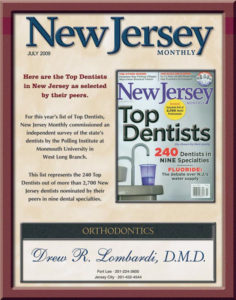 NJ Magazine's Top Dentists - Drew Lombardi